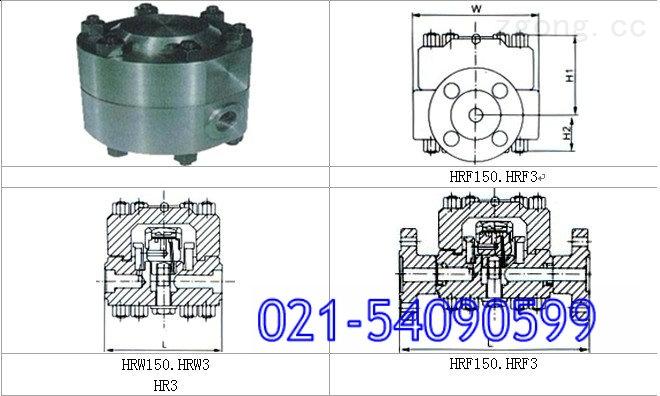 hrw150高温高压圆盘式疏水阀图片