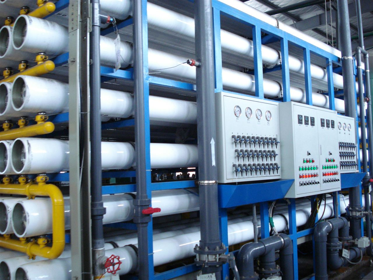 近日,青岛双瑞海洋环境工程有限公司锐丰源除盐水项目的第一